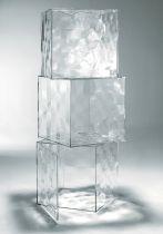 RANGEMENT OPTIC - Avec porte - Cristal