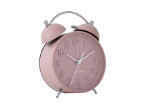 reveil iconic present time classique retro rose
