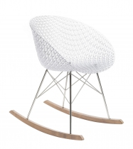 Rocking chair Matrix - Kartell - Cristal