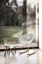 Rocking chair Matrix - Kartell - Cristal