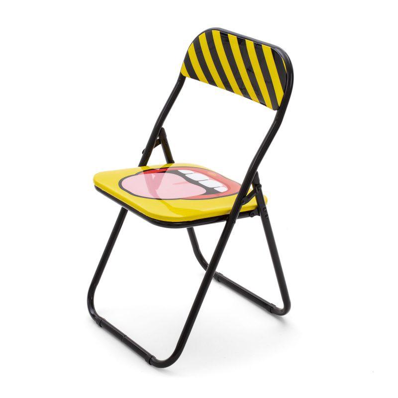 Chaise pliante Tongue - Seletti