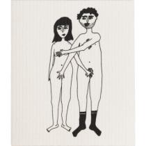 Set de 2 lavettes Couple  - helen B