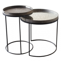 SET DE 2 STRUCTURES HAUTES POUR TABLE BASSE
