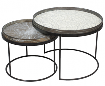 SET DE 2 STRUCTURES POUR TABLES BASSES M