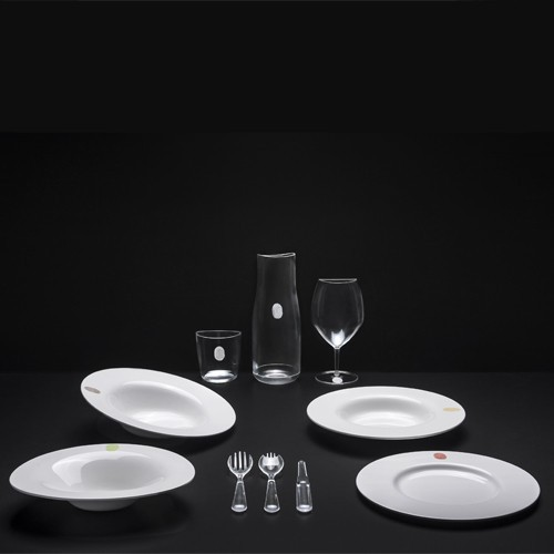 SET DE 4 ASSIETTES CREUSES I.D. ISH by D\'O - Winter