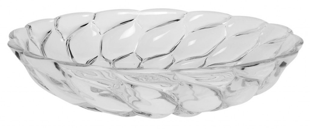 SET DE 4 ASSIETTES CREUSES JELLIES - Cristal