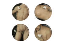 Set de 4 assiettes Yuan - Eden - Ibride