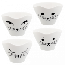 Set de 4 bols Teacat - Pylones