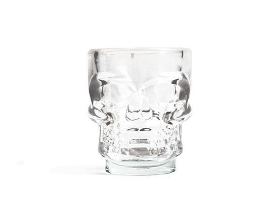 set de 4 verres crâne - Kikkerland