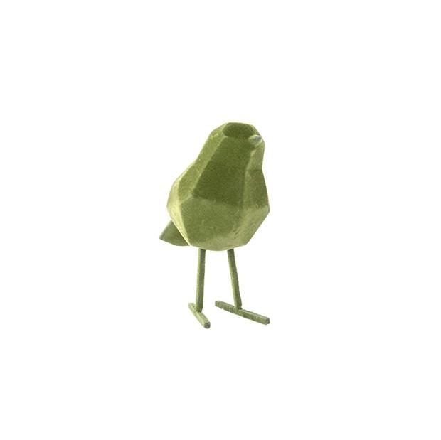 Statue origami Le petit Oiseau floquée - Present time
