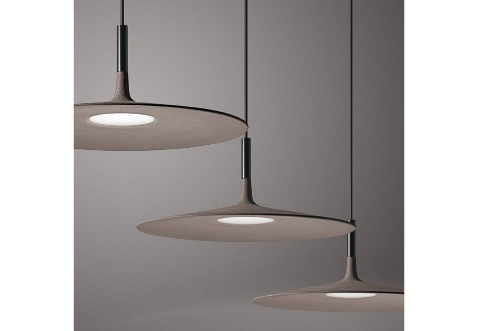 SUSPENSION APLOMB LARGE LUCIDI E PEVERE LUMINAIRE