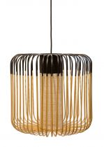 SUSPENSION BAMBOO LIGHT M - Rouge