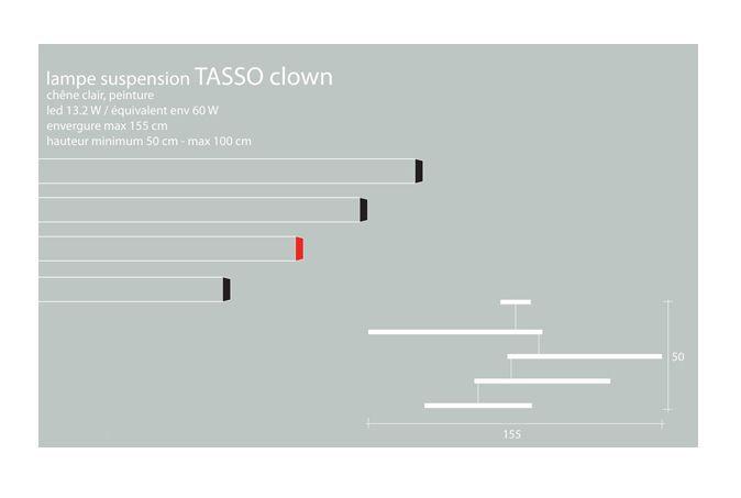 Suspension Tasso Clown - Presse citron