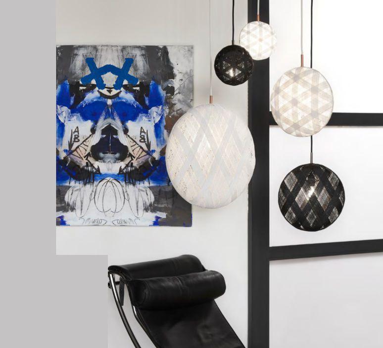 suspension chanpen diamant m forestier. Black Bedroom Furniture Sets. Home Design Ideas