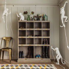 lampe de table monkey blanc seletti okxo singe. Black Bedroom Furniture Sets. Home Design Ideas