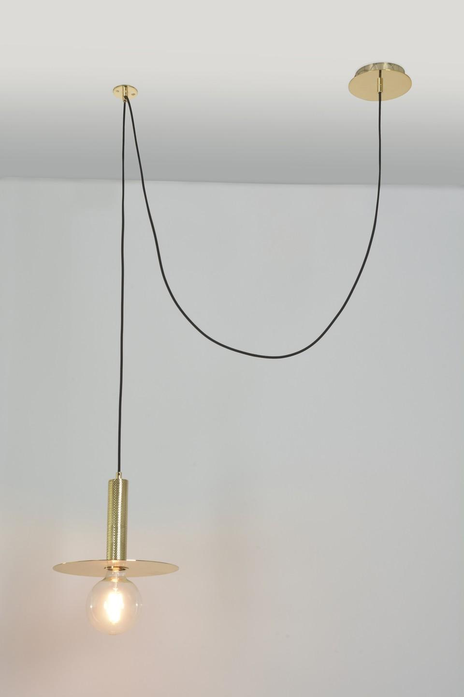 Suspension Spy 1 Lumière - Laiton - Market Set