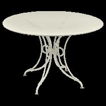 TABLE 1900 FERMOB Ø117 CM