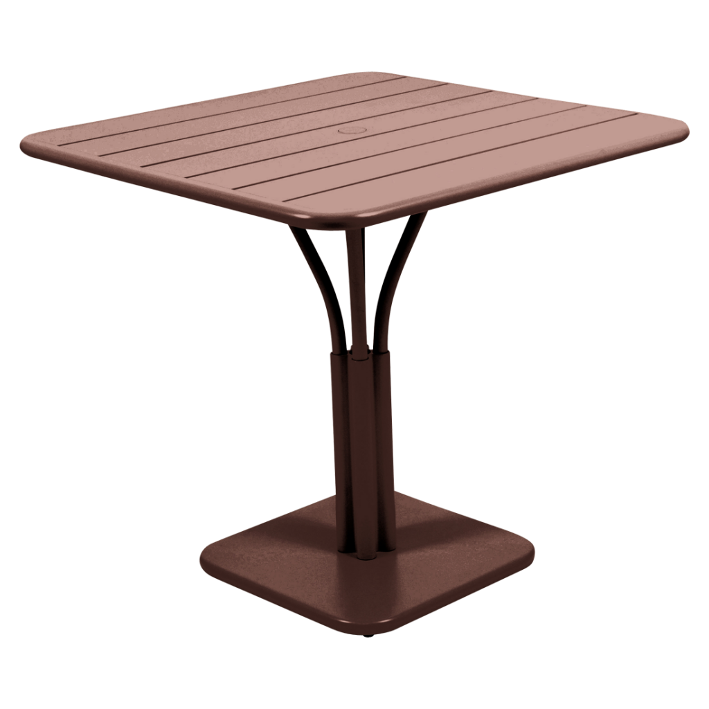 Table 80x80 cm pied central - Fermob