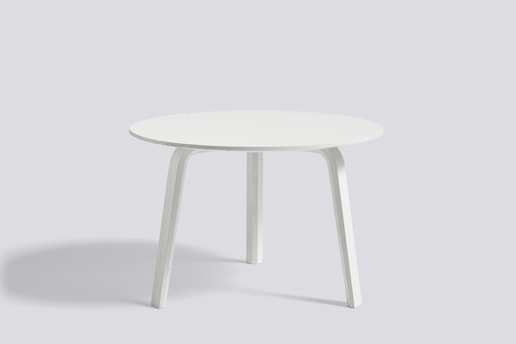 TABLE BASSE BELLA COFFEE Ø60 H39 okxo rouen hay blanche