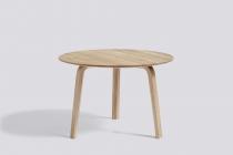 TABLE BASSE BELLA COFFEE Ø60 H39 okxo rouen hay bois