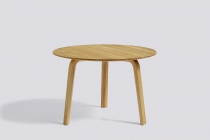 TABLE BASSE BELLA COFFEE Ø60 H39 okxo rouen hay bois