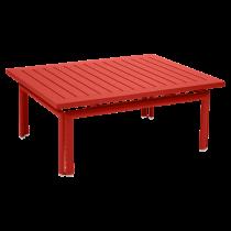 TABLE BASSE COSTA 100 X 80 CM - Carbone