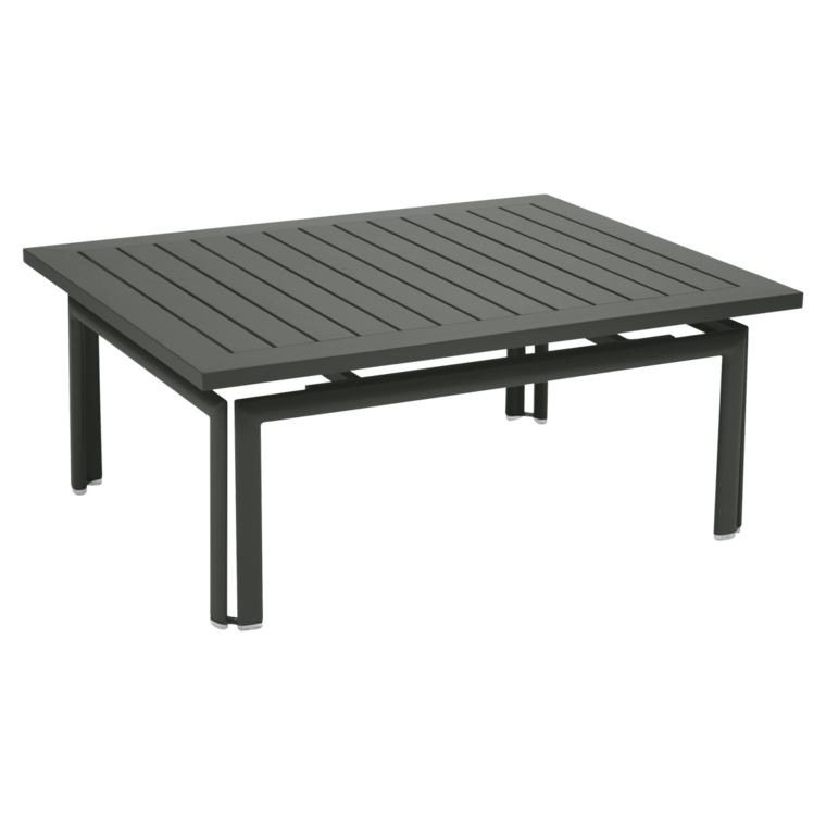 TABLE BASSE COSTA 100 X 80 CM - Carbone
