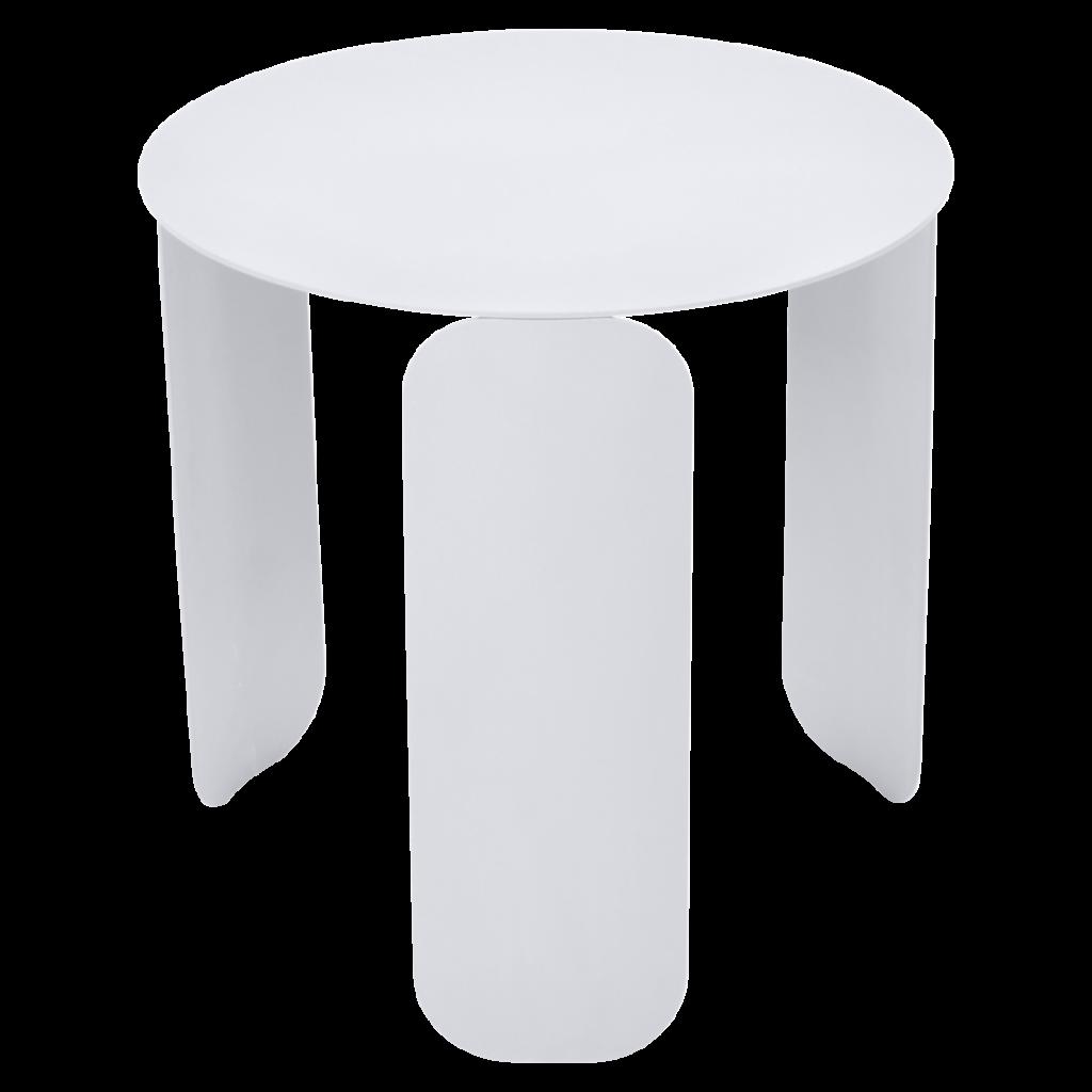Table basse Bebop Ø45 - Fermob - Blanc coton