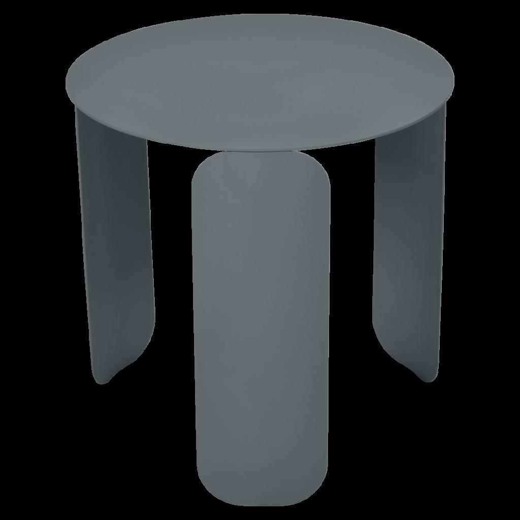 Table basse Bebop Ø45 - Fermob - Gris orage