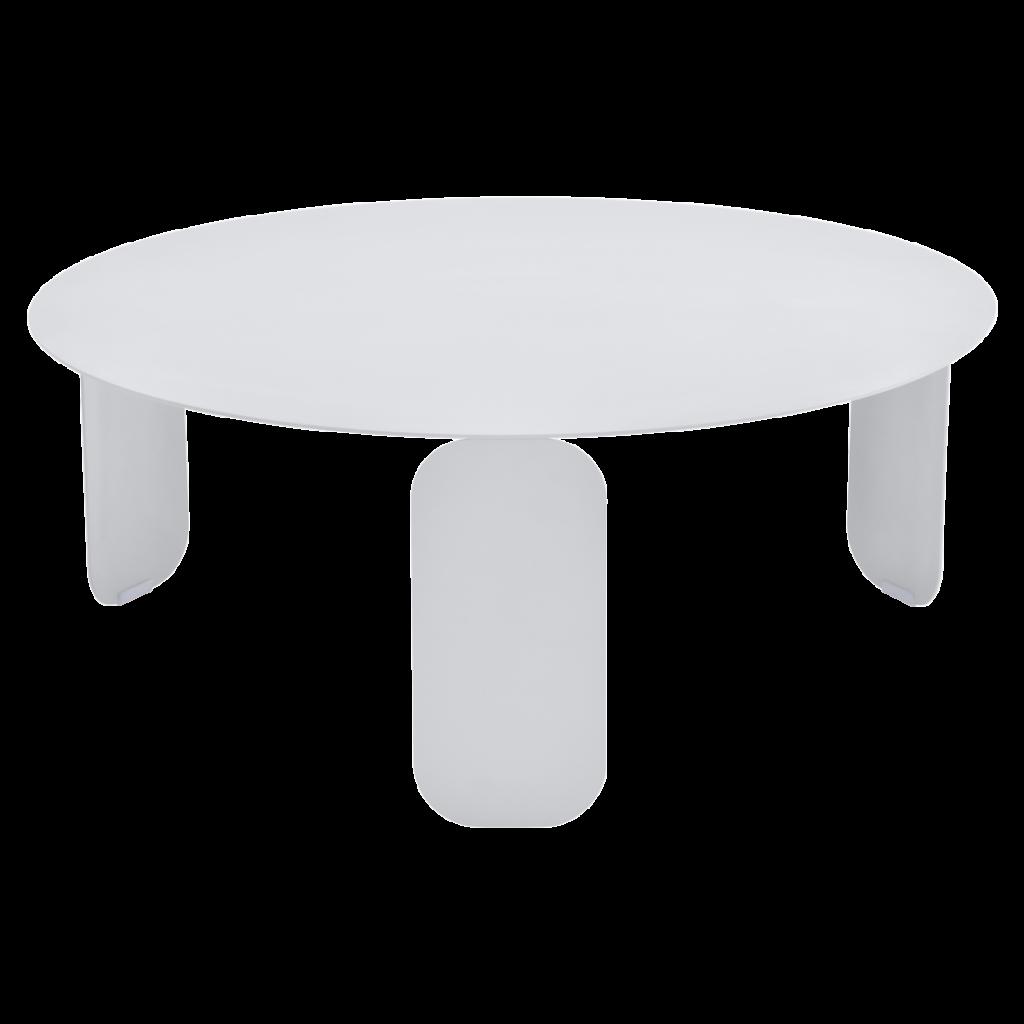 Table basse Bebop Ø80 - Fermob - Blanc coton