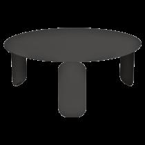 Table basse Bebop Ø80 - Fermob - Réglisse
