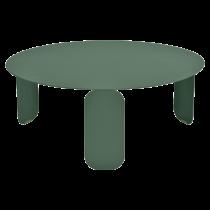 Table basse Bebop Ø80 - Fermob - Vert cèdre
