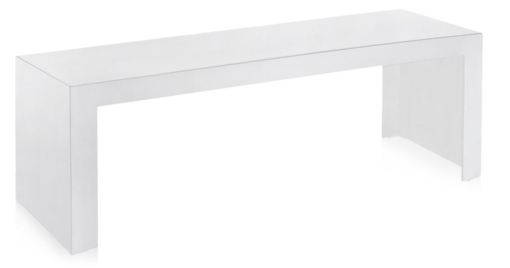 TABLE BASSE INVISIBLE KARTELL RECTANGLE H40