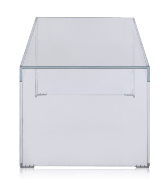 TABLE BASSE INVISIBLE RECTANGLE KARTELL H31