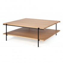 TABLE BASSE RISE - 100 x 100 x 37 cm - Ethnicraft