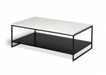 TABLE BASSE STONE - Ethnicraft okxo marbre