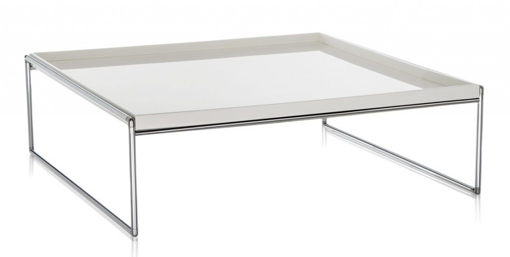 TABLE BASSE TRAYS KARTEE 80X80 CM