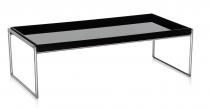 TABLE BASSE TRAYS KARTELL 80X40 CM