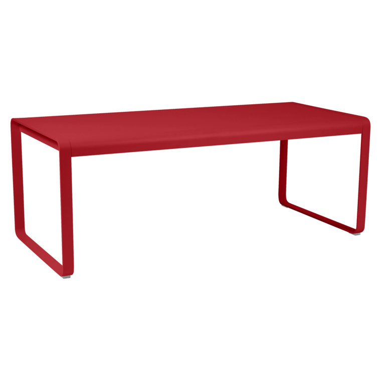 TABLE BELLEVIE 196x90 cm - Piment