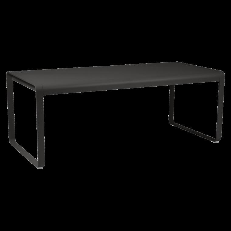 TABLE BELLEVIE 196x90 cm - Piment