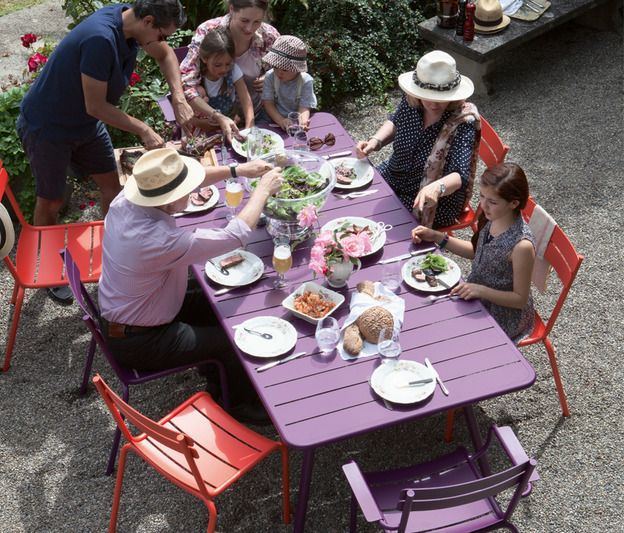TABLE DE JARDIN Luxembourg OUTDOOR FERMOB OKXO