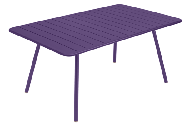 Table Luxembourg - 165 x 100 - Fermob - Aubergine