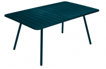 Table Luxembourg - 165 x 100 - Fermob - Bleu acapulco