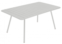 Table Luxembourg - 165 x 100 - Fermob - Gris métal