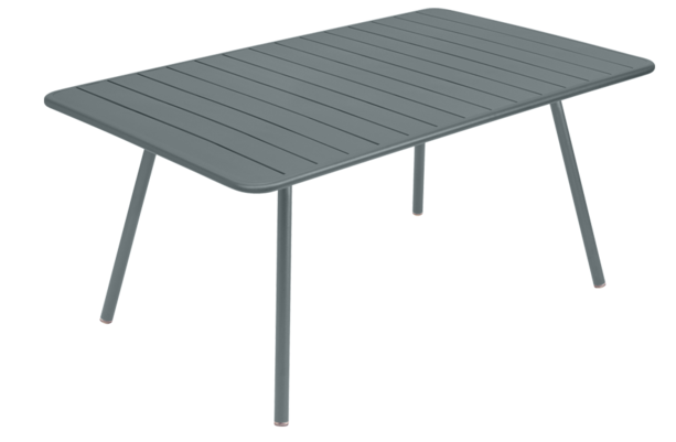 Table Luxembourg - 165 x 100 - Fermob - Gris orage