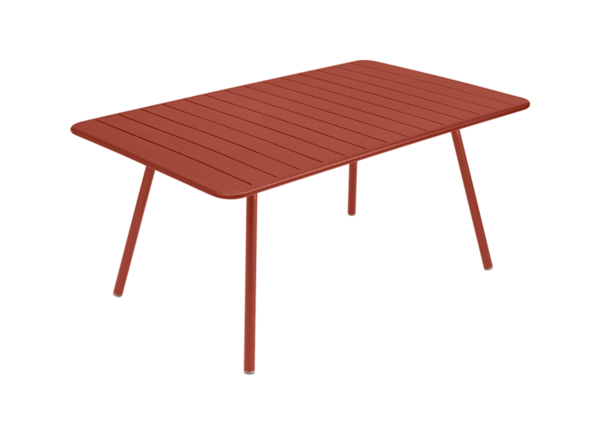 Table Luxembourg - 165 x 100 - Fermob - Ocre rouge