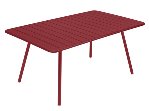 Table Luxembourg - 165 x 100 - Fermob - Piment