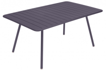 Table Luxembourg - 165 x 100 - Fermob - Prune