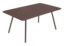 Table Luxembourg - 165 x 100 - Fermob - Rouille