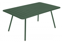Table Luxembourg - 165 x 100 - Fermob - Vert cédre
